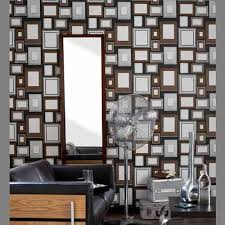 modern wallpaper patterns and wall sticker designs with frames