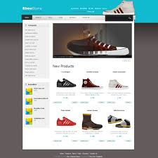 free webpage templates html template 367 shoes