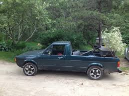 volkswagen rabbit truck vwvortex com 2 vw rabbit pickups for sale 4000 gets both or