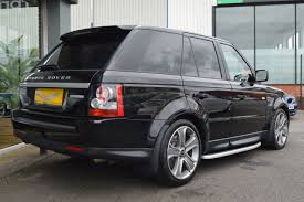 range rover car black used land rover range rover sport 3 0 sdv6 hse black edition 5dr