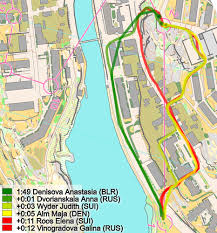 Time Difference Map Woc Sprint Women 2016 Why Did Alm Win U0026 Full Analysis World Of