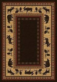 Rustic Lodge Rugs Large Area Lodge Rug Products Rugs And X