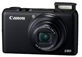 amazon com canon powershot s90 10mp digital camera with 3 8x