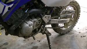 How To Change Dirt Bike Chain And Sprockets Youtube