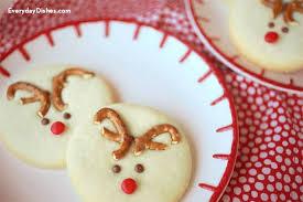 reindeer sugar cookies everyday dishes