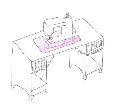 sewing tables by sara arrow and kangaroo kabinets sewing cabinets custom insert sewing