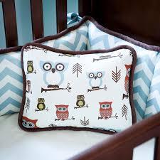 Owls Crib Bedding Nursery Neutral Gender Owl Baby Bedding All Modern Home Designs