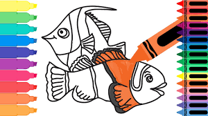 clown fish coloring pages clown fish coloring pages for kids with