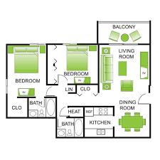 floor plans treehouse schaumburg luxury apartment living