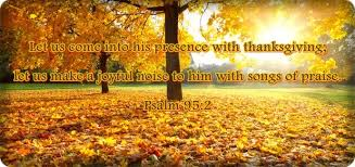 psalm 95 2 let us come into his presence with thanksgiving let us