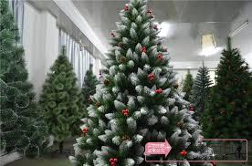 Christmas Decorations Snow Tree by Mag Christmas Tree Decoration 1 8 M High Grade 180cm Spray Snow
