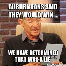 Auburn Memes - fans