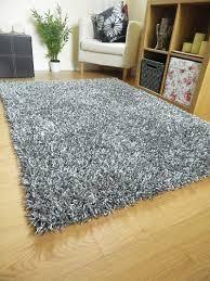 grey shag rug safavieh hudson ivory grey shag rug 4u0027 x 6u0027