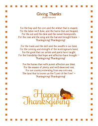 thanksgiving poems 3rd grade thanksgiving blessings