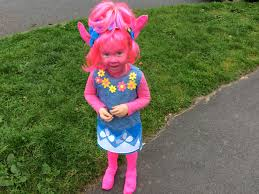 Toddler Halloween Party Ideas Trolls Costume Home Made Halloween Costume Or Party Fancy Dress