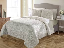 3 king sundance taupe quilt set