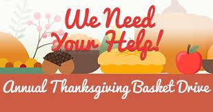 thanksgiving baskets help us fill the thanksgiving baskets deadline nov 16 maury