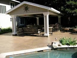 stand alone covered patio plans design and ideas
