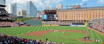 Baseball Map Camden Yards Parking Guide Maps Tips Deals Spg