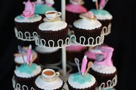 kitchen tea cake ideas kitchen tea cupcakes chocolate mud ganache fondant cup flickr