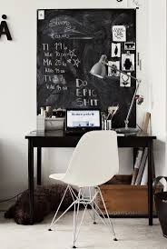 Black And White Home Best 25 Black Desk Ideas On Pinterest Black Office Desk Black