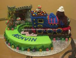 coolest thomas the train cake