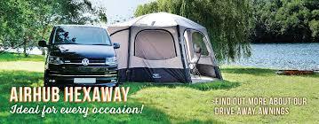 Drive Away Awnings For Coachbuilt Motorhomes Inflatable Awnings Vango