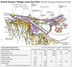 Grand Canyon On A Map Grand Canyon National Park U2013 Land Use Comparison Grand Canyon