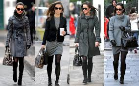 frills and thrills the many coats of pippa middleton
