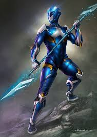 concept ranger power ranger blue redesing by aioras on deviantart