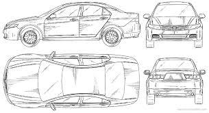 2007 honda accord dimensions the blueprints com vector requests honda accord