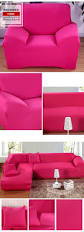 Pink Sofa Slipcover by Solid Color All Inclusive Full Sofa Cover Slip Cover Stretch