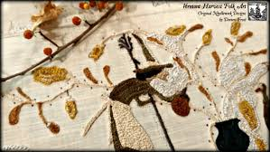 autumn on acorn farm pattern by doreen frost primitive punch
