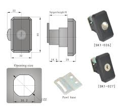 industrial cabinet door latch sk1 027 container twist lock buy