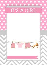 baby shower invitations girl baby shower girl invitations templates 25 best ideas about ba shower