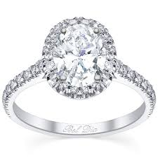 oval engagement ring with halo pave setting oval halo engagement ring