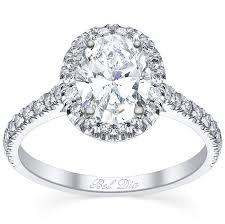 engagement ring setting pave setting oval diamond halo engagement ring