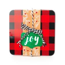 gift card tin plaid tin gift card holder wondershop target