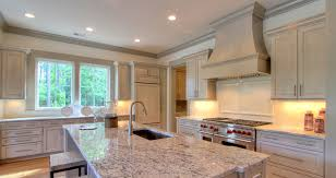 white kitchen cabinets with gray glaze kitchens baths sherlock homes builders inc