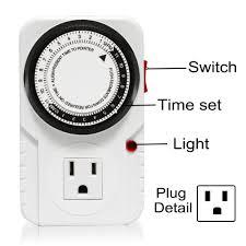 24 hr timer light switch honest manufacturer sinowell 24 hour mechanical timer buy 24 hour