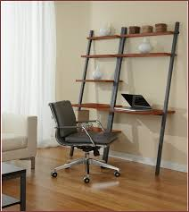 Leaning Ladder Desk by White Leaning Bookcase Desk Home Design Ideas