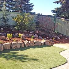 Retaining Wall Garden Bed by Landscaping Photo Galley Blue Isle Landscaping