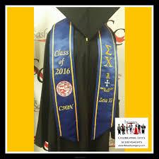 graduation stole custom csun graduation sash stole