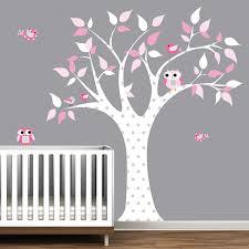arbre chambre bébé stickers arbre chambre bébé galerie avec les enfants wall stickers