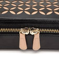 Colorado Travel Jewelry Case images Wolf chlo black zip jewellery case 301202 wolf jewellery jpg