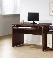 Office Desk With Keyboard Tray Office Office Desk With Keyboard Tray Large Glass Computer Desk