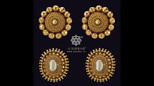 design of gold earrings ear tops gold ear studs designs small tops