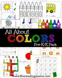 10 best colors images on pinterest worksheets for preschoolers