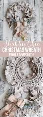 Holiday Wreath Ideas Pictures Best 25 Shabby Chic Wreath Ideas On Pinterest Paper Doilies