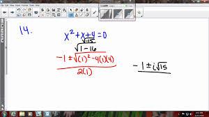 honors algebra 2 cumulative review 1 youtube